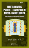 Electrokinetic Particle Transport in Micro-/Nanofluidics: Direct Numerical Simulation Analysis