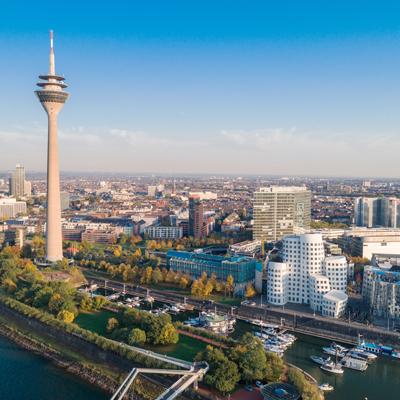 Düsseldorf, Germany Landmark