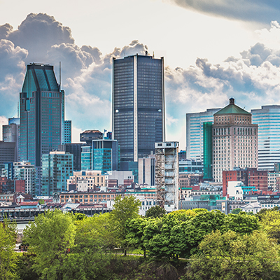 Montreal, Quebec, Canada Landmark
