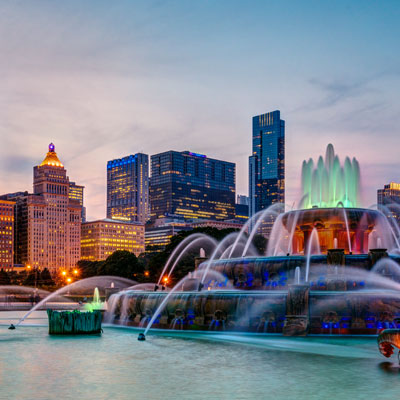 Chicago, Illinois Landmark
