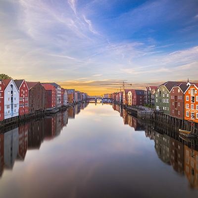 Trondheim, Norway Landmark