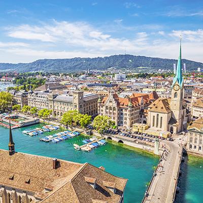 Europe, Zürich Landmark