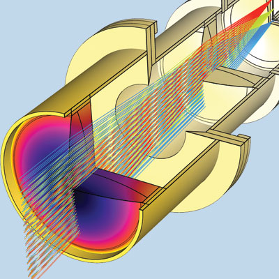 <p>Microwave & Optics model</p>