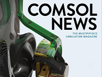 《COMSOL News 2020》杂志封面顶部。