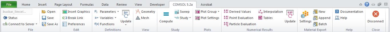 LiveLink™ for Excel®