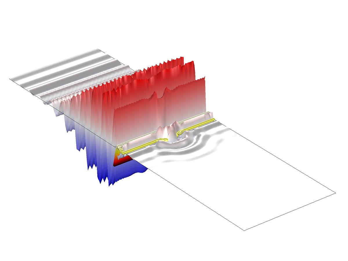 在電磁波傳播的瞬态研究中,通常假設随時間發生的所有變化為正弦信号,使問題具有頻域時諧性。波動光學模塊具有許多用于仿真此類現象的接口。您還可以仿真信号失真很小的非線性問題。如果非線性影響很強,則需要對器件進行完全瞬态研究。 使用傳統方法求解光學傳播問題時,往往需要使用大量單元來解析每個波長。而且仿真光的傳播時,總是會涉及到小波長。通常情況下,模拟相關尺度比波長大的器件時,将需要大量的計算資源。然而,波動光學模塊使用創新性波束包絡方法來實現這種類型的仿真,減少對計算資源的依賴性。 計算電磁全波傳播的這種創新方