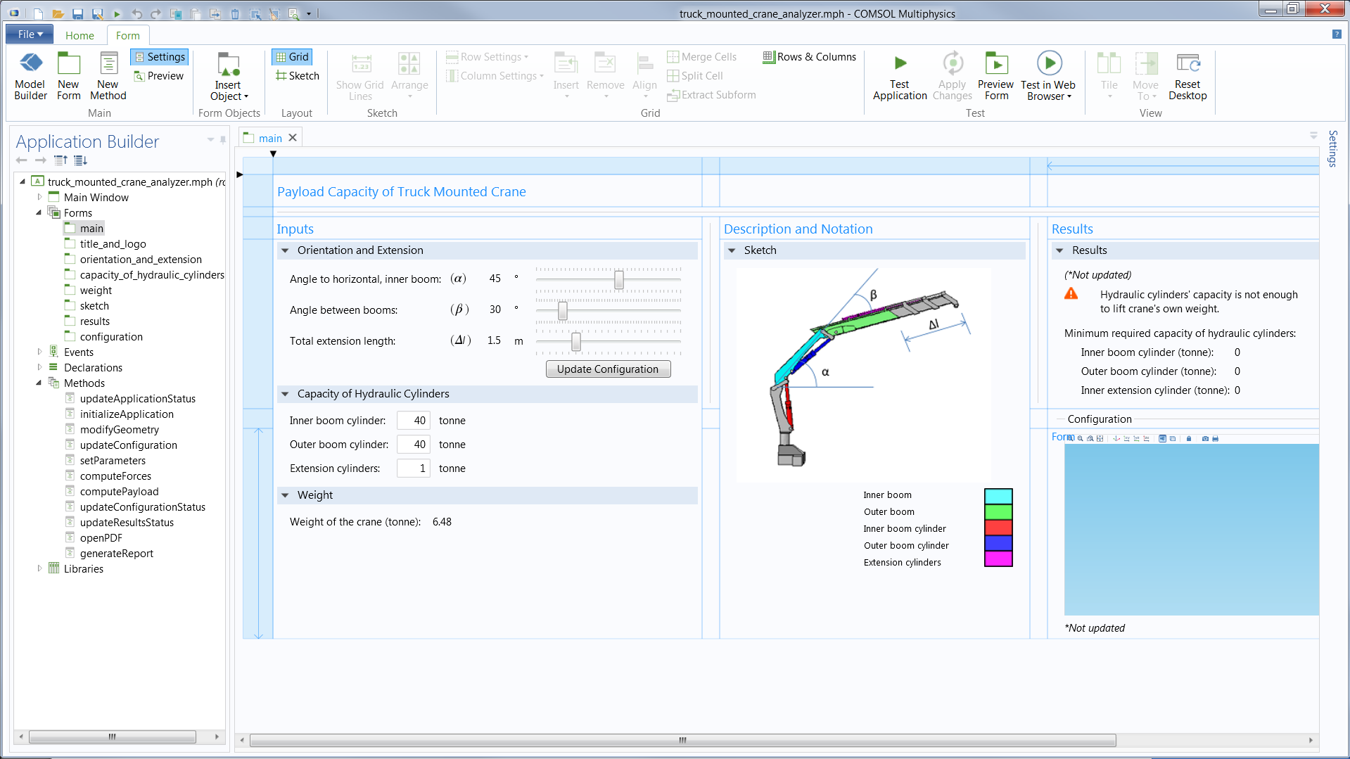Разработка визуальных компонентов для среды с builder