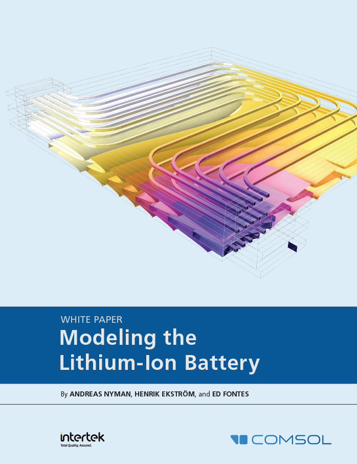 Free White Paper on Simulating the Lithium-Ion Battery