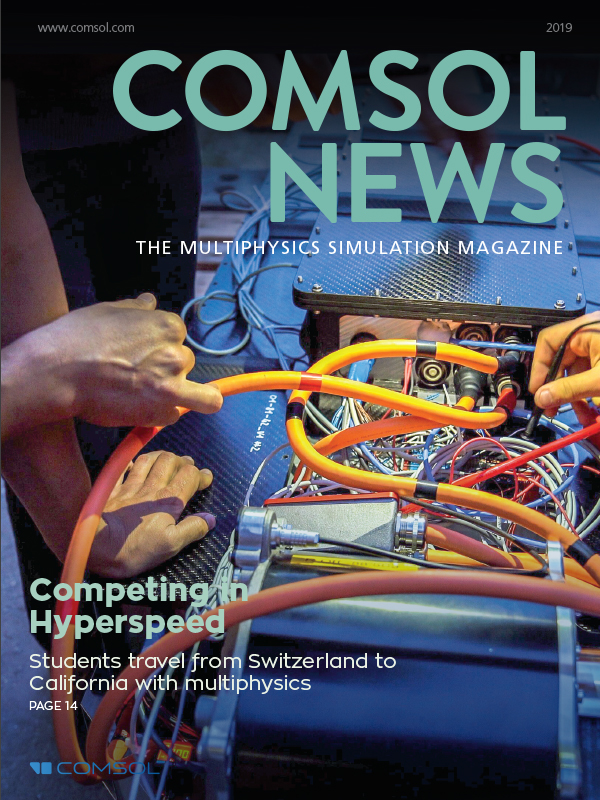 COMSOL News Magazine 2019