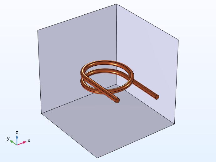 3D coil model geometry