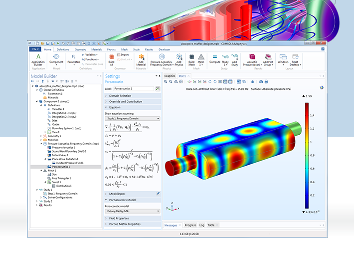 Modeling Acoustics Applications with COMSOL Multiphysics®