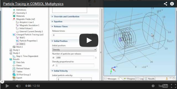 Particle Tracing Video