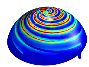 COMSOL Model of Hemisphere Antenna