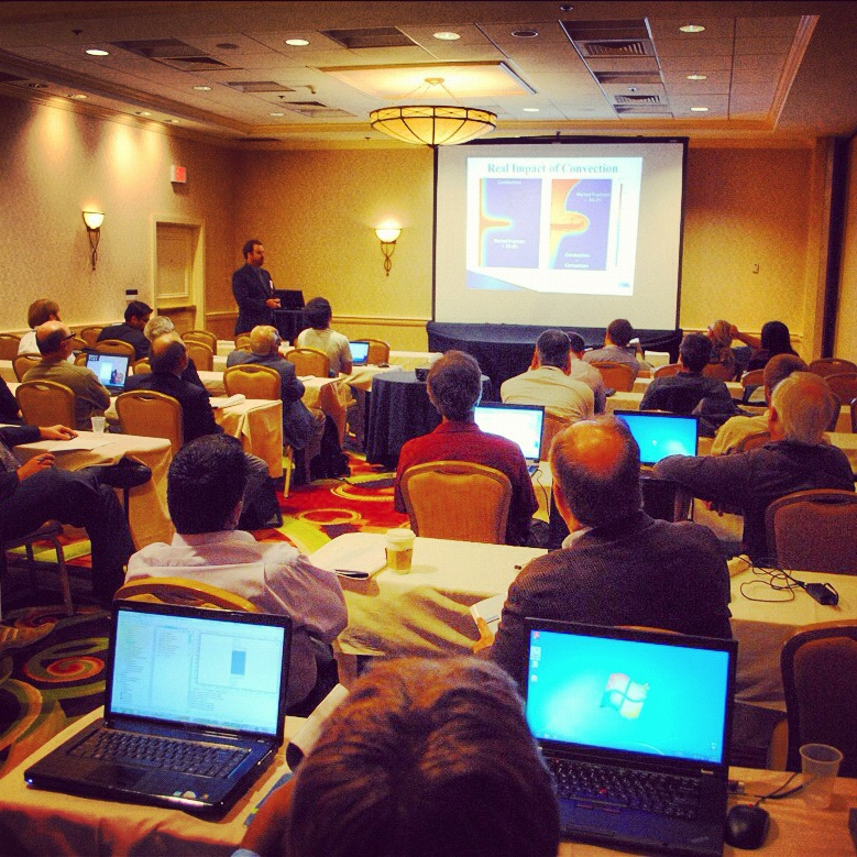 Presentation at the COMSOL Conference 2011