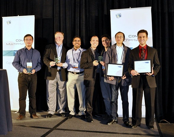 COMSOL Conference Boston 2012 Paper and Poster Winners