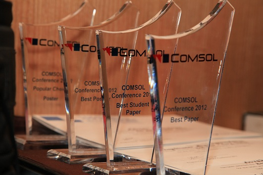 COMSOL Conference Bangalore 2012 Awards