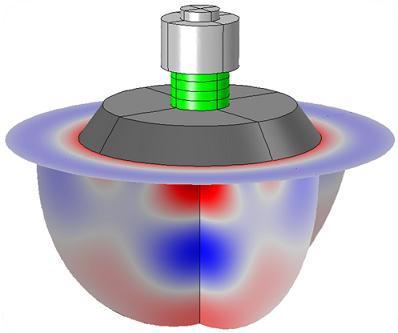 tonpilz piezoelectric transducer