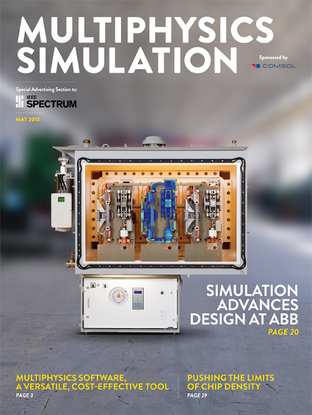 IEEE Spectrum Multiphysics Simulation insert 2013