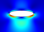 Ellipsoid microparticle, presented at the CAA-ASA acoustics conference