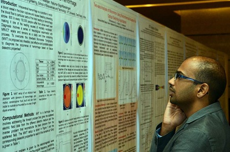 Poster Session at the COMSOL Conference 2013 Bangalore