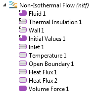 Non-Isothermal Flow interface