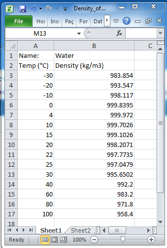 Exporting material properties into a COMSOL Material Database