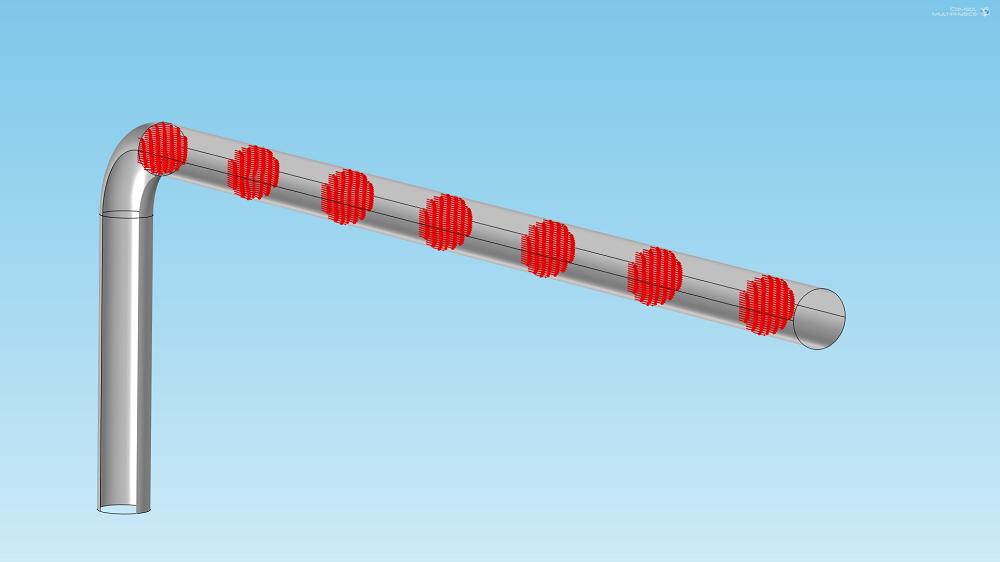 箭头图可用于帮助设计肘形管。