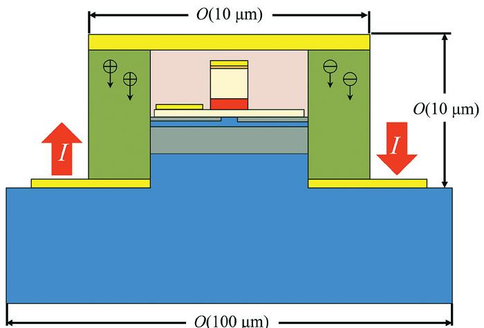 新型激光器设备中的 TIPS 架构模型。