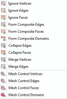虚拟操作菜单。