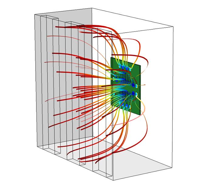 电镀槽模型示意。