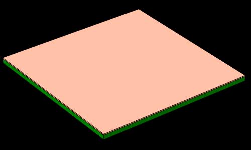 将种子层镀于 PCB 板之上。