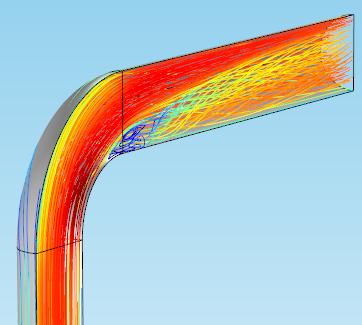 模型显示了线样式。