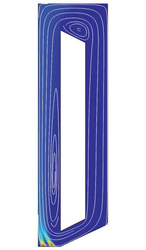 气升式反应器图示。