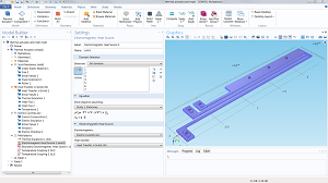 COMSOL Multiphysics user interface