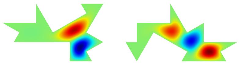 第二种模式的声压场图。