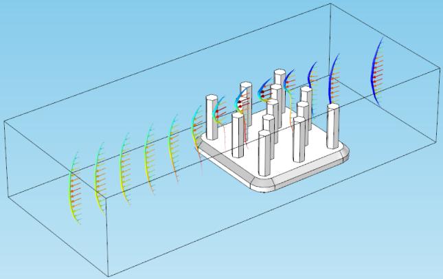 变形在散热器中的应用。