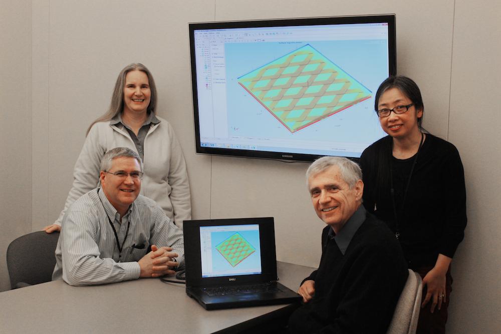 波音研究与技术部的研究团队的成员照片。
