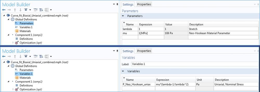 如何访问模型开发器中的参数和变量。