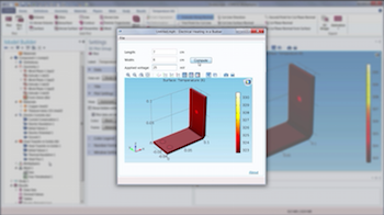 Build Simulation Apps from Your COMSOL Multiphysics Model Video