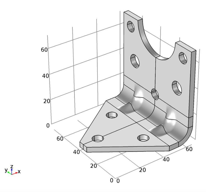 支架的最优几何结构