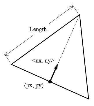 等边三角形的五个参数