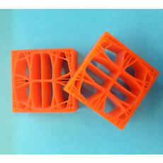3D 打印样品。