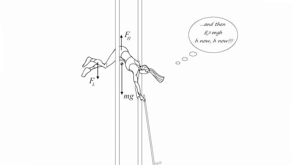 撑杆跳高运动员过杆插图。