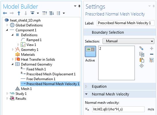 """演示如何使用""""变形几何""""接口实现材料去除的屏幕截图。"""