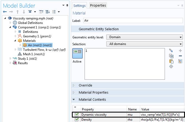 显示黏度如何与 visc_ramp 相乘的屏幕截图。