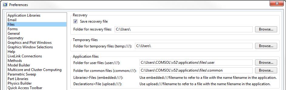 指定输出文件的位置。