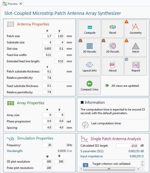 屏幕截图提供了用于显示表单对象的主表单的预览。