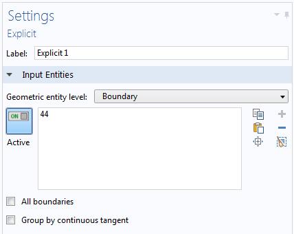 显式选择设置窗口图示。
