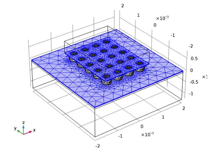 将自由三角形网格特征节点添加到网格剖分序列。