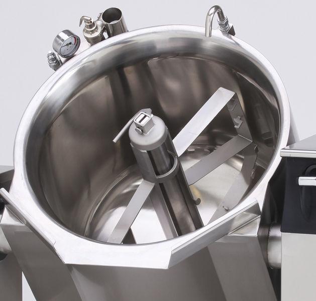 工业搅拌器的照片。